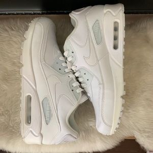 Nike Air Max 90 White Size 10